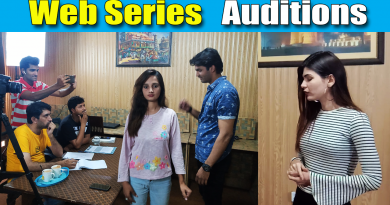 Web Series Audition in Lahore Held at Film Studio